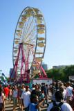 Ferris wheel at the Taste of Chicago