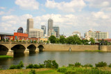 Indianapolis across the White River