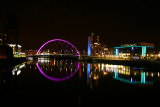 Clyde Arc over river Clyde, Glasgow