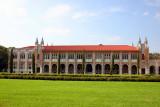 Square inside Rice University, Houston