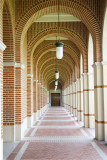 Hallways in Rice University, Houston