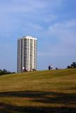 Over the hill at Hermann Park, Houston