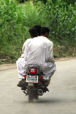 Only 3 on bike