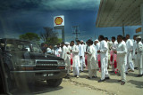 Petrol Pump opening by VIP