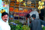 Fruit vendor in Dadyal