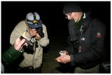 Capturing a White-faced Storm Petrel in the night - Ilheo dos Passaros