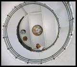 Stairs inside Vinga Lighthouse - Sweden 2004