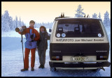 Working in Lapland - Sweden 1988