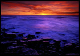 Sunset near Västrevet 1987