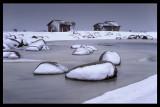 Hans fiskestugor in the winter 1978