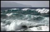 Waves outside Ribeira Grande - The Azores 2006