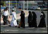 Women walking in Muscat