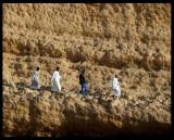 Taking a mountain walk - Muscat