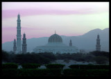 Sultan Q`s mosque outside Muscat
