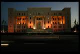 Roadside building - The beautiful headquarters of Oman International Bank