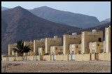 Omanian houses near Yemen border