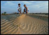 Martin & Madelene near the Muntasar Oasis