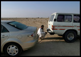 Don`t leave the road with a 2WD car !!!