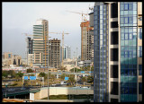 Great building activity in downtown Kuwait City