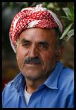 Man at an Al-Jahra farm