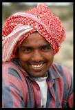 Young boy at Abdali Farms