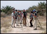 George showing Common Babblers near Abdali Farms