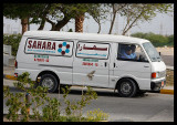 In case you think it`s to cold you can call the Sahara team