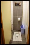 Toilet at McDonalds - clean as allways....