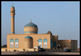 Mosque in the suburbs of Kuwait City