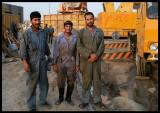 Workers prepairing new highway