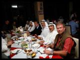 Invited to dinner with Kuwaiti birdwatchers