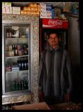 Far from the big malls - the local shop in Al Abraq