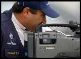 Cameraman from Kuwait TV