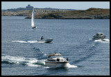 Boats outside Marstrand Sweden 2004