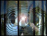 Lamp inside Vinga Lighthouse - Gothenborg Sweden 2004