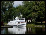 Old ship Sandön in Gota Canal - Sweden 2004