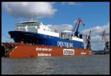 repaiting ship i Gothenburg harbour - Sweden 2004