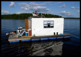 Compact living on Lake Helgasjön Sweden 2002äxjö