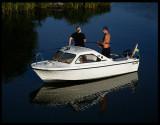 Evening fishing - Lake Vänern