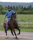 New saddle on Oliver