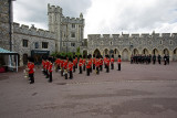 Changing of the Gaurd at Windsor Castle