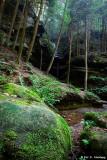 Cliffs, falls and rocks