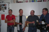 VAX fest hos mig med Pontus Grönvall, Lasse Olsson; Stefan Munck, Anders Olausson 25.11-06