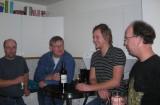 Stefan Munck, Devander, Minihulten och Nordan på VAX fest hos mig 25.11-06