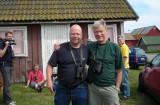 Stefan Munck och Jörgen Fagerfors Båda nya 400 Gubbar med Dvärgrördrom Gårdby Öland 23.6-07