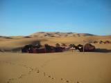 Berbertält i Erg Chebbi