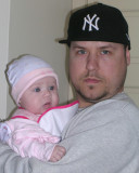 Jeremy  and daughter, Olivia