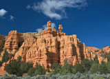 Red Canyon, before reaching Bryce Canyon