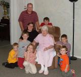 Shermans with Grandma and Great-grandma Goodman (depending on who you ask)