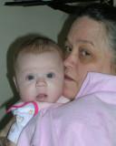 Mary and her 1st grandbaby, Olivia
